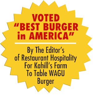 Voted best Burger in America